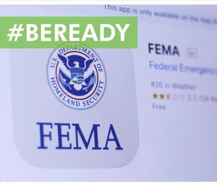 FEMA website snapshot